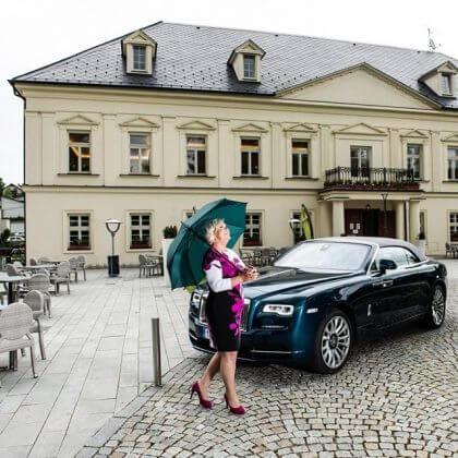 Jolanta Burkotová prodala svou firmu a udělala si radost