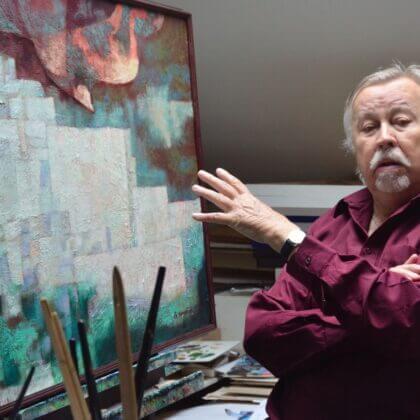Výstava – Zdeněk Hudeček