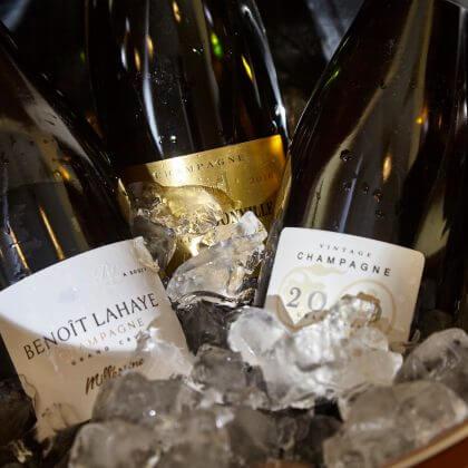 Exklusivní ochutnávku champagne s PMP.